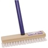 "Brush Scrub Poly Deck 8"" W/48""Handle 208 0"