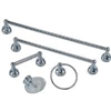 Bath Assortment 5Pc Chrome 0