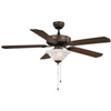 "Ceiling Fan Boston Harbour 52"" Venitian Bronze 1Lt CF-B552-ORB 0"