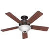 "Ceiling Fan Hunter 52"" New Bronze 53250/28724 0"