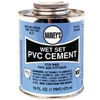 Cement Pvc 16Oz Wet Set Blue 018420-12 0
