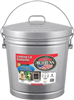 Trash Can  6Gal Galvanized 906Cm W/Lid 0