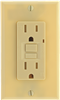 Receptacle*D*Gfci 15A Ivory Tamper Resistant When Out Use 0891333 0