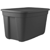 Storage Tote*S*18-Gal Black 0