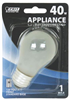 Bulb Appliance Incandescent 40W A15 Frost Medium Base Dimmable Bp40A15 0