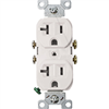Receptacle Duplex White 877W-Bx 20Amp Grounded 0