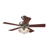 "Ceiling Fan Hunter 42"" Brush Nickel 51011 0"