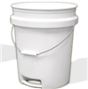 "Bucket 5Gal""Mg""Plastic Bucket W/ Rope Handle 0"