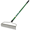 "Bow Rake 14"" 14 Tine Fiberglass Handle 54"" Landscape Select 34465 0"