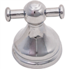 Bath Robe Hook Chrome Double Venetian 0