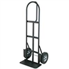 "Hand Truck P Handle Dolly Solid 10"" Tires Black Powder Coat Finish 800Lb Capacity Yy800D 0"