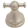 Bath Robe Hook Double Brushed Nickel Venetian 0
