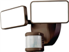 Light Fixture Motion Bronze LED 180 Degree Dual Lite Hz-5867-Bz 0