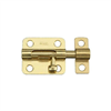 "Barrel Bolt-2-1/2"" Brass N151-480 0"