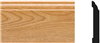 Moulding Pvc Imperial Oak Colonial Base 3-1/4X8' 5523 0