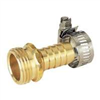 "Hose End Brass Male 5/8"" w/ Clamp 58113N 0"