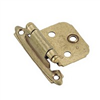 Cabinet Hinge Flush Burnished Brass Self Closing Bp3429Bb 0