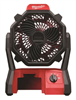 Fan Jobsite Milwaukee 0866-20 18V W/Ac Adapt 0