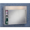 Med Cabinet-Chrome Slider 24X18 701L 0