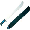 "Machete 18"" w/Rubber Handle & Sheath JLO-006-N3L/26621 0"