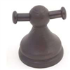 Bath Robe Hook Double Oil Rubbed Bronze Venetian 0