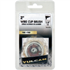 "Wire Wheel Cup 1/4""Shank X 2.00""Vulcan Fine Crimped Wire 0"
