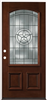"Door Unit Mahogany Texas Star 3068 Lh Open In 4-5/8"" Fj Jambs Prefinished No Casing Double Bore 0"