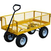 "Wagon 48""x24"" Yellow Garden Cart 1200Lb Capacity Tc4205Eg 0"