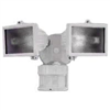 Light Fixture-Motion 150W Twin Hz-5512-W Twin White Halogen Floodlight 0