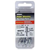 Pop Rivet Aluminum 1/8X1/8 White 25Pk Fpc42Aw 0