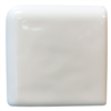 Ceramic Tile-Bullnose Brite White Surface Cap 0
