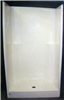 "Shower--Fiberglas Bone  1Pc 36""X36"" S612 0"