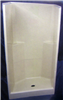"Shower--Fiberglas White*2Pc*36""X36""Skd365 0"