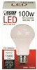 100-Watt Equivalent Non-Dimmable A19 E26 2700K Household LED Bulb A1600/827/10KLED 0
